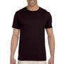 Gildan Mens Softstyle Short Sleeve Crewneck T-Shirt - Dark Chocolate Brown