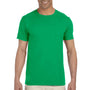Gildan Mens Softstyle Short Sleeve Crewneck T-Shirt - Irish Green