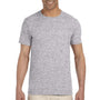 Gildan Mens Softstyle Short Sleeve Crewneck T-Shirt - Sport Grey
