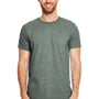 Gildan Mens Softstyle Short Sleeve Crewneck T-Shirt - Heather Forest Green
