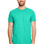 Gildan Mens Softstyle Short Sleeve Crewneck T-Shirt - Heather Seafoam Green