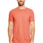 Gildan Mens Softstyle Short Sleeve Crewneck T-Shirt - Heather Orange