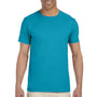 Gildan Mens Softstyle Short Sleeve Crewneck T-Shirt - Tropical Blue