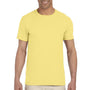 Gildan Mens Softstyle Short Sleeve Crewneck T-Shirt - Cornsilk Yellow