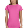 Gildan Womens Softstyle Short Sleeve Crewneck T-Shirt - Azalea Pink