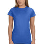 Gildan Womens Softstyle Short Sleeve Crewneck T-Shirt - Heather Royal Blue