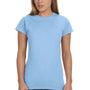 Gildan Womens Softstyle Short Sleeve Crewneck T-Shirt - Light Blue