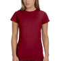 Gildan Womens Softstyle Short Sleeve Crewneck T-Shirt - Antique Cherry Red