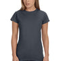 Gildan Womens Softstyle Short Sleeve Crewneck T-Shirt - Heather Dark Grey