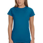 Gildan Womens Softstyle Short Sleeve Crewneck T-Shirt - Antique Sapphire Blue
