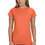 Gildan Womens Softstyle Short Sleeve Crewneck T-Shirt - Heather Orange