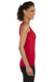 Gildan G642L Womens Softstyle Tank Top Cherry Red Side