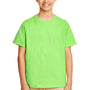 Gildan Youth Softstyle Short Sleeve Crewneck T-Shirt - Lime Green