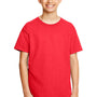 Gildan Youth Softstyle Short Sleeve Crewneck T-Shirt - Red