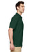 Gildan G728 Mens DryBlend Moisture Wicking Short Sleeve Polo Shirt Forest Green Side