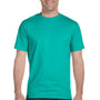 Gildan Mens DryBlend Moisture Wicking Short Sleeve Crewneck T-Shirt - Jade Dome Green