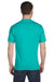 Gildan G800 Mens DryBlend Moisture Wicking Short Sleeve Crewneck T-Shirt Jade Green Back