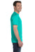 Gildan G800 Mens DryBlend Moisture Wicking Short Sleeve Crewneck T-Shirt Jade Green Side