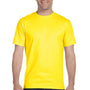 Gildan Mens DryBlend Moisture Wicking Short Sleeve Crewneck T-Shirt - Daisy Yellow