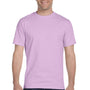 Gildan Mens DryBlend Moisture Wicking Short Sleeve Crewneck T-Shirt - Orchid Purple