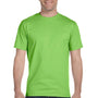 Gildan Mens DryBlend Moisture Wicking Short Sleeve Crewneck T-Shirt - Lime Green