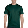 Gildan Mens DryBlend Moisture Wicking Short Sleeve Crewneck T-Shirt - Forest Green