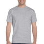Gildan Mens DryBlend Moisture Wicking Short Sleeve Crewneck T-Shirt - Sport Grey
