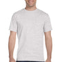 Gildan Mens DryBlend Moisture Wicking Short Sleeve Crewneck T-Shirt - Ash Grey