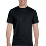 Gildan Mens DryBlend Moisture Wicking Short Sleeve Crewneck T-Shirt - Black