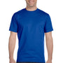 Gildan Mens DryBlend Moisture Wicking Short Sleeve Crewneck T-Shirt - Royal Blue