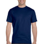 Gildan Mens DryBlend Moisture Wicking Short Sleeve Crewneck T-Shirt - Navy Blue