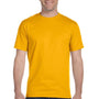 Gildan Mens DryBlend Moisture Wicking Short Sleeve Crewneck T-Shirt - Gold