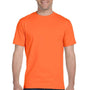 Gildan Mens DryBlend Moisture Wicking Short Sleeve Crewneck T-Shirt - Orange