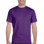 Gildan Mens DryBlend Moisture Wicking Short Sleeve Crewneck T-Shirt - Purple