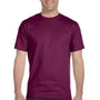 Gildan Mens DryBlend Moisture Wicking Short Sleeve Crewneck T-Shirt - Maroon