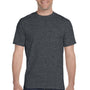 Gildan Mens DryBlend Moisture Wicking Short Sleeve Crewneck T-Shirt - Heather Dark Grey