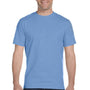 Gildan Mens DryBlend Moisture Wicking Short Sleeve Crewneck T-Shirt - Carolina Blue
