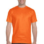 Gildan Mens DryBlend Moisture Wicking Short Sleeve Crewneck T-Shirt - Safety Orange