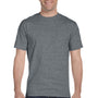 Gildan Mens DryBlend Moisture Wicking Short Sleeve Crewneck T-Shirt - Heather Graphite Grey
