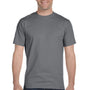 Gildan Mens DryBlend Moisture Wicking Short Sleeve Crewneck T-Shirt - Gravel Grey