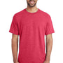 Gildan Mens DryBlend Moisture Wicking Short Sleeve Crewneck T-Shirt - Heather Scarlet Red