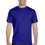 Gildan Mens DryBlend Moisture Wicking Short Sleeve Crewneck T-Shirt - Sport Royal Blue