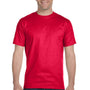 Gildan Mens DryBlend Moisture Wicking Short Sleeve Crewneck T-Shirt - Sport Scarlet Red