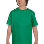 Gildan Youth DryBlend Moisture Wicking Short Sleeve Crewneck T-Shirt - Kelly Green