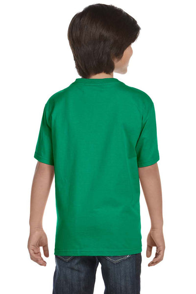 Gildan G800B Youth DryBlend Moisture Wicking Short Sleeve Crewneck T-Shirt Kelly Green Back