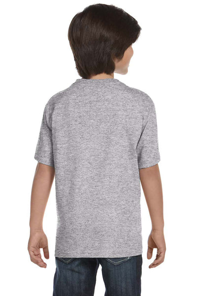 Gildan G800B Youth DryBlend Moisture Wicking Short Sleeve Crewneck T-Shirt Sport Grey Back