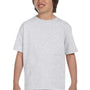 Gildan Youth DryBlend Moisture Wicking Short Sleeve Crewneck T-Shirt - Ash Grey
