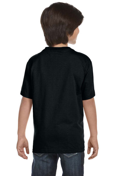 Gildan G800B Youth DryBlend Moisture Wicking Short Sleeve Crewneck T-Shirt Black Back