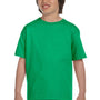 Gildan Youth DryBlend Moisture Wicking Short Sleeve Crewneck T-Shirt - Irish Green