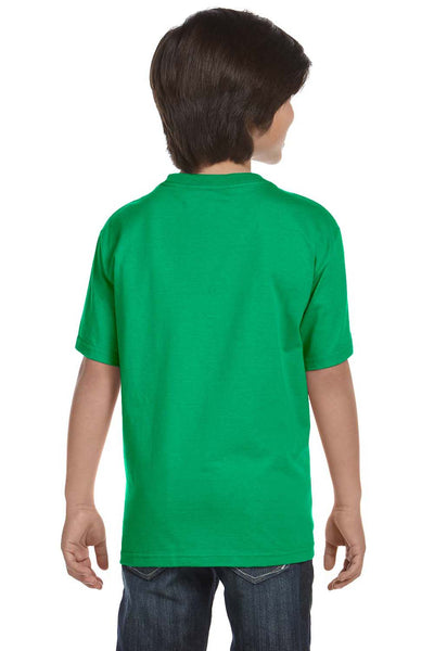 Gildan G800B Youth DryBlend Moisture Wicking Short Sleeve Crewneck T-Shirt Irish Green Back